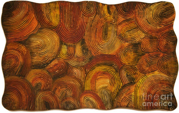 Primal Painting - Primal Women Abstract I by Kristen R Kennedy