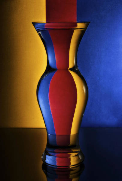 Primary Colors Photograph - Primary Curves by John Hamlon