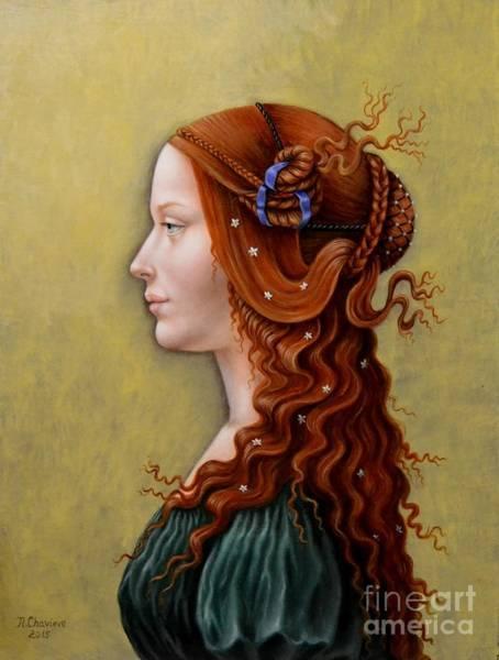 Primavera Painting - Primavera by Nathalie Chavieve