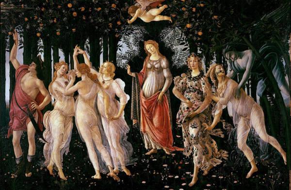 Primavera Painting - Primavera Sandro Botticelli by Sandro Botticelli