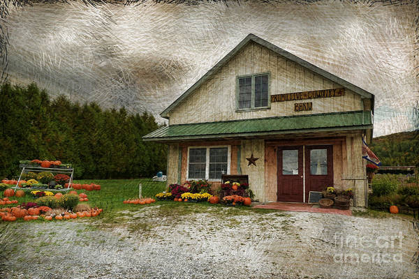 Photograph - Primitive Country Barn by Deborah Benoit