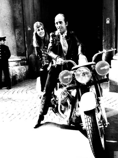 Husband Photograph - Prince And Princess Alessandro Ruspoli by Elisabetta Catalano