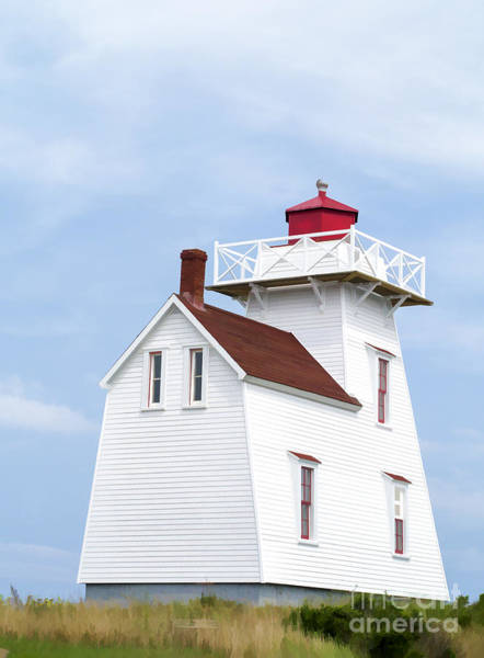 Keeper Photograph - Prince Edward Island Lighthouse by Edward Fielding