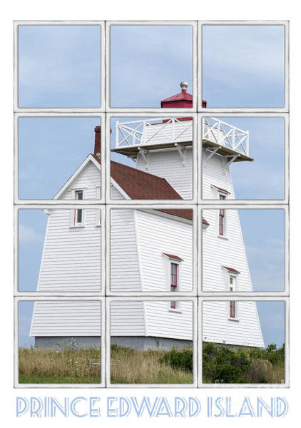 Photograph - Prince Edward Island Travel Poster by Edward Fielding