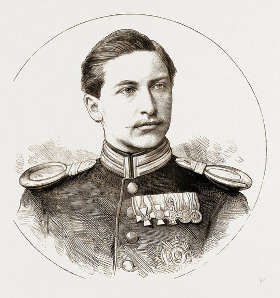 Feb Wall Art - Drawing - Prince Frederick William Victor Albert Of Prussia by Litz Collection
