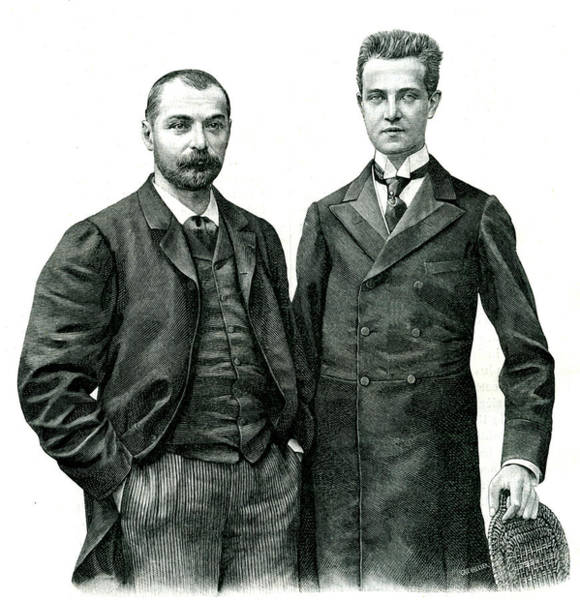 Head And Shoulders Photograph - Prince Henri D'orleans And Gabriel Bonvalot by Collection Abecasis/science Photo Library