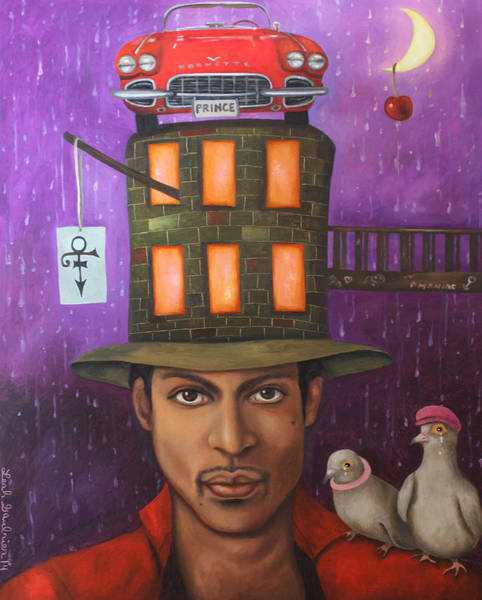 Prince Rogers Nelson Wall Art - Painting - Prince by Leah Saulnier The Painting Maniac
