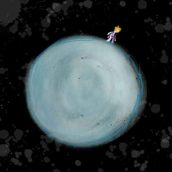 Little Planet Digital Art - Prince by Nate Schmold