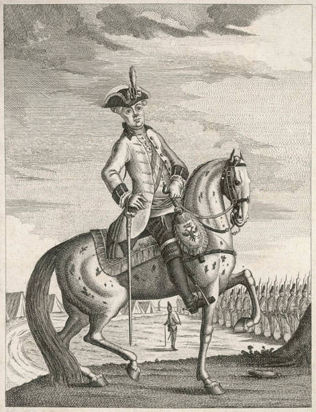 Wall Art - Drawing - Prince Nicholas Joseph Esterhazy Von by Mary Evans Picture Library