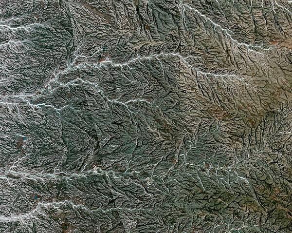 Drainage Photograph - Prince Patrick Island River System by Nasa/gsfc/meti/ersdac/jaros And U.s./japan Aster Science Team