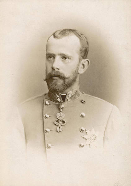 Wall Art - Photograph - Prince Rudolf Of Austria (1858-1889) by Granger