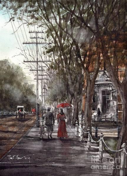 Nova Scotia Painting - Prince Street by Tim Oliver