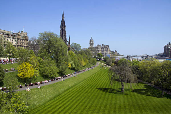 Photograph - Princes Street Gardens by Ross G Strachan