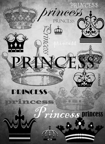 Wall Art - Mixed Media - Princess 3 by Angelina Tamez