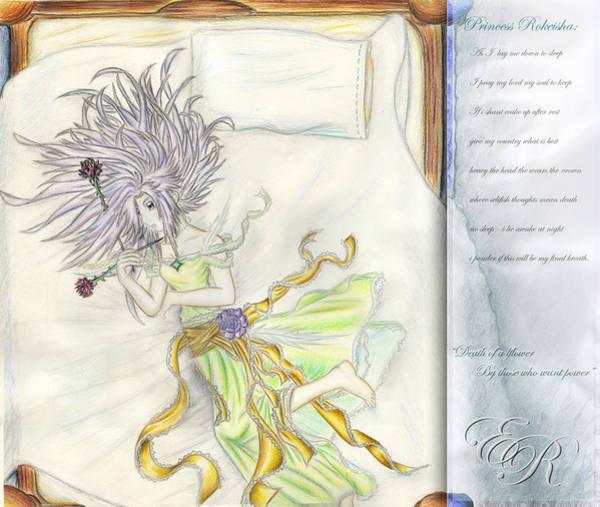 Painting - Princess Altiana Aka Rokeisha by Shawn Dall