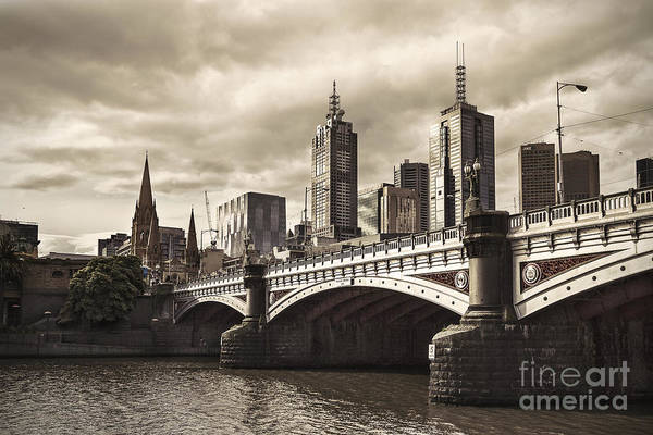 Wall Art - Photograph - Princess Bridge by Andrew Paranavitana