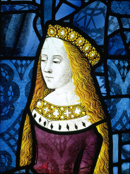 Ermine Wall Art - Painting - Princess Cecily C.1485 by English School