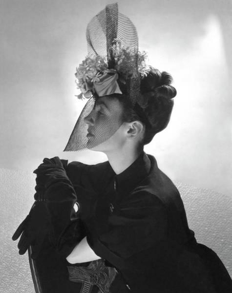 Screen Photograph - Princess Jean Poniatowski by Horst P. Horst