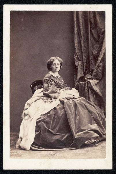 Wall Art - Photograph - Princess Marie Amalie Of Baden by Mary Evans Picture Library