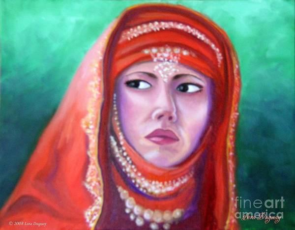 Painting - Princess Sibylla by Lora Duguay