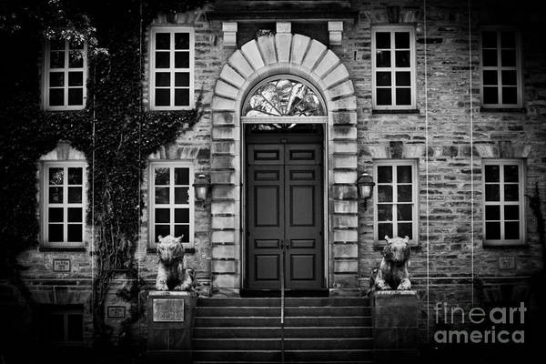 Wall Art - Photograph - Princeton Tigers In Black And White by Colleen Kammerer