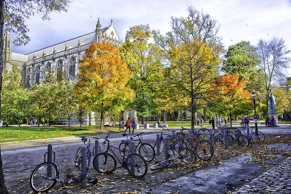 Wall Art - Photograph - Princeton University Campus by Madeline Ellis