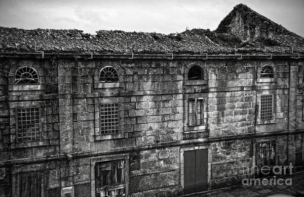 Photograph - Principal Theatre In Ruins Bw by RicardMN Photography