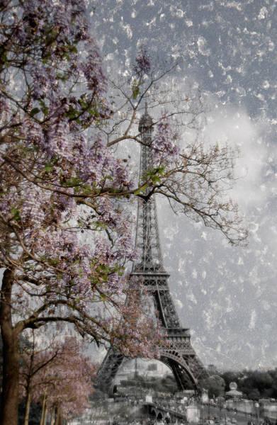 La Tour Eiffel Photograph - Printemps Parisienne by Joachim G Pinkawa