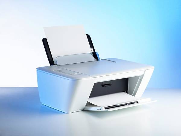 Printer Photograph - Printer by Science Photo Library