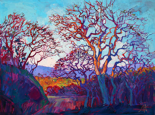 Wall Art - Painting - Prism Lights by Erin Hanson