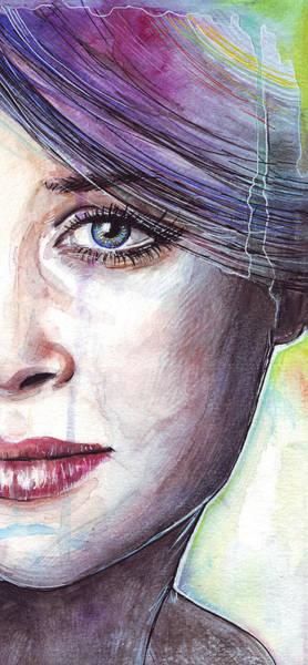 Eye Painting - Prismatic Visions by Olga Shvartsur