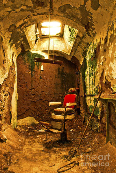 Photograph - Prison Barber Shop by Paul W Faust -  Impressions of Light