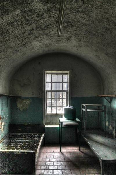 Wall Art - Photograph - Prison Cell by Jane Linders