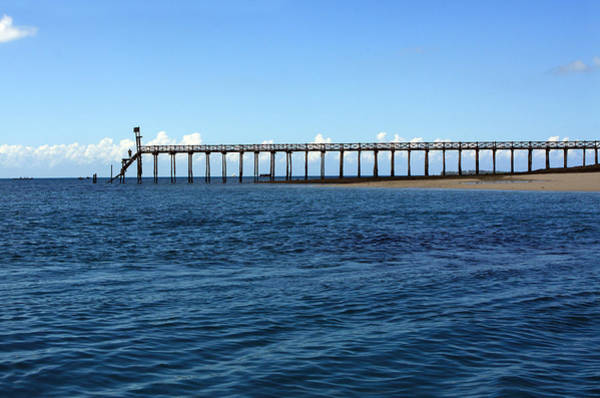 Photograph - Prison Island Jetty - East Africa by Aidan Moran