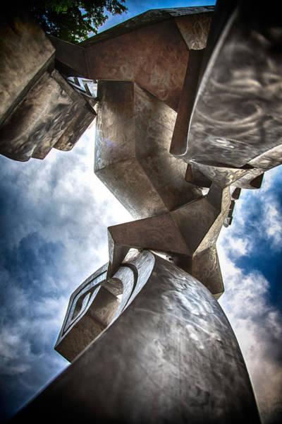 Drum Circle Wall Art - Photograph - Pritchard Park Art Is Looking Up by John Haldane