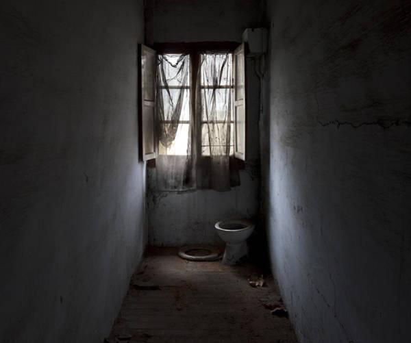 Toilet Photograph - Privacy by Fernando Alvarez