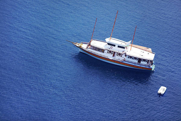Luxury Yacht Photograph - Privacy In Paradise Is Guaranteed by Yuri