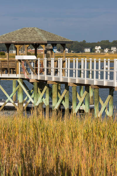 Photograph - Private Dock Patterns by Ed Gleichman