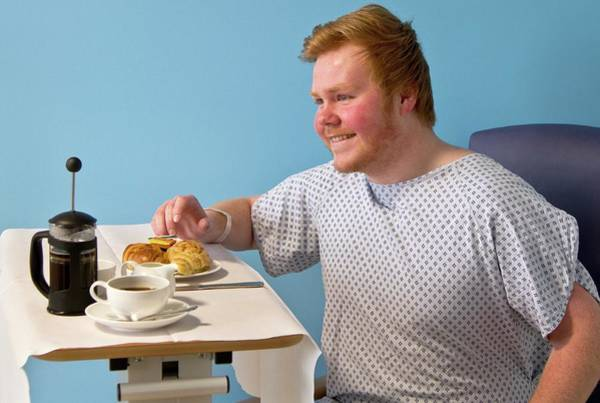 British Food Photograph - Private Hospital Breakfast by Life In View/science Photo Library
