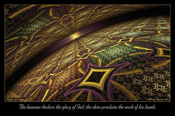 Digital Art - Proclaim by Missy Gainer