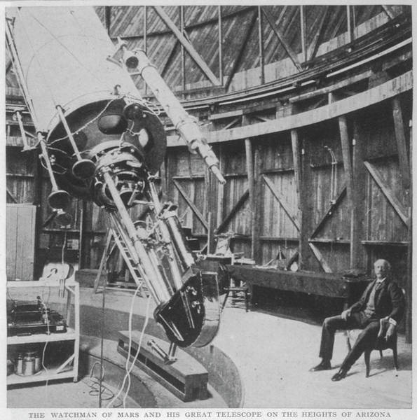 Wall Art - Photograph - Professor Percival Lowell by Mary Evans Picture Library