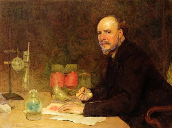 Experiment Photograph - Professor Sir James Dewar 1842-1923 After Sir William Orchardson 1832-1910 by Edmund Dyer