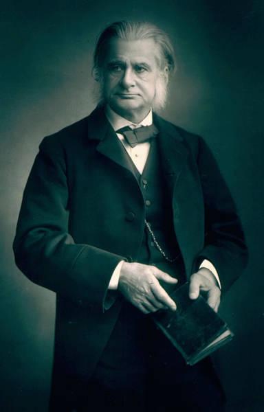 Evolution Painting - Professor Thomas H Huxley by Stanislaus Walery