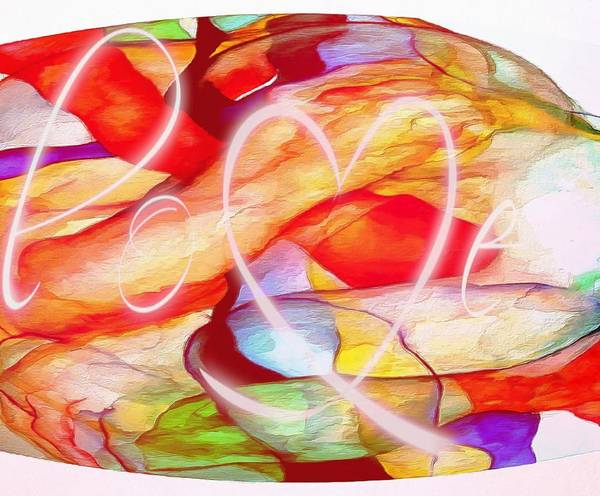 Digital Art - Profound Thought Love by Catherine Lott