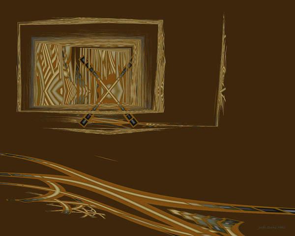 Digital Art - Progress Barred by Judi Suni Hall