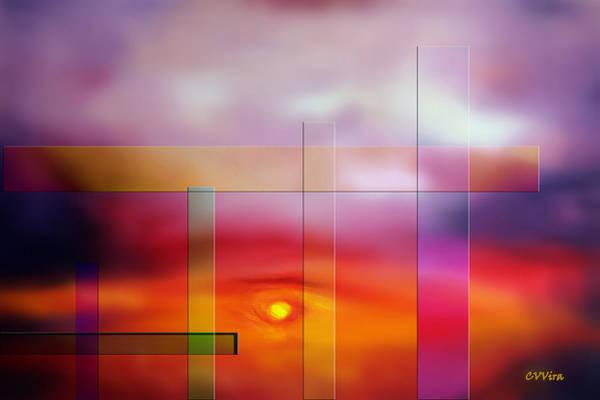 Wallpaper Mixed Media - Progress by CVVira Fine Art  Photography