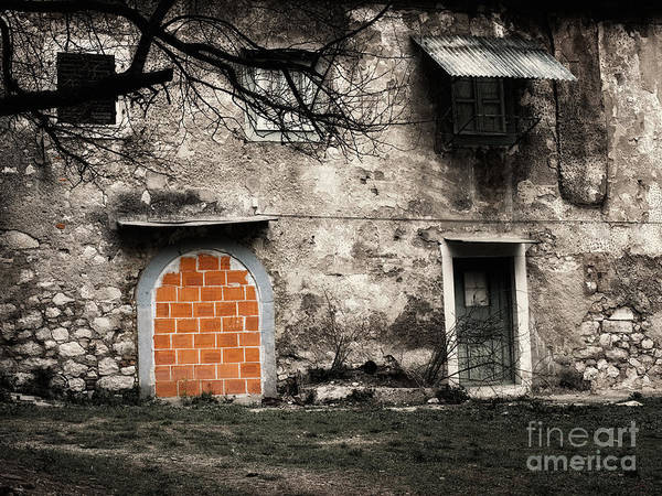 Real Ghosts Wall Art - Photograph - Prohibited House by Sinisa Botas