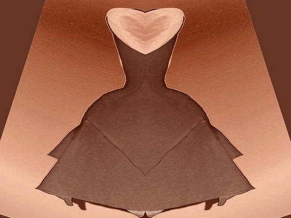 Digital Art - Prom Dress by Mary Russell