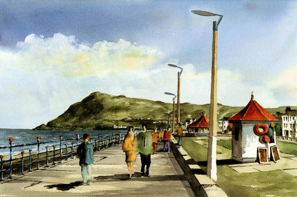 Painting - Where Have The Flagpoles Gone ?? by Val Byrne