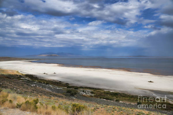 Photograph - Promontory Point View From Antelope Island by Donna Greene